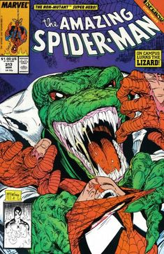 Amazing Spider-Man No. 313 by Todd McFarlane