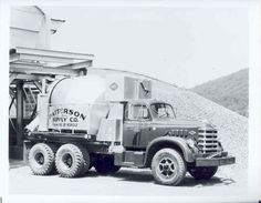 1958 Diamond T 830 Mixer Truck