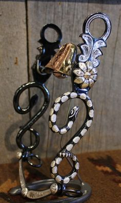 Love This : Silver Mounted Snake Bit