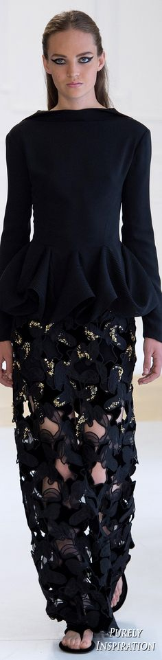 Christian Dior Haute Couture FW2016 | Purely Inspiration                                                                                                                                                     More
