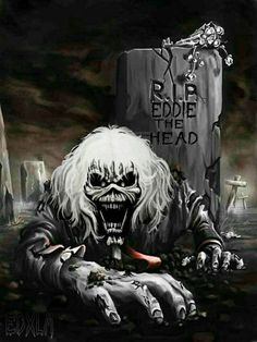 Discover amazing things and connect with passionate people. Iron Maiden Album Covers, Iron Maiden Cover, Iron Maiden Albums, Iron Maiden Band, Eddie Iron Maiden, Iron Maiden Mascot, Woodstock, Iron Maiden Posters, Eddie The Head