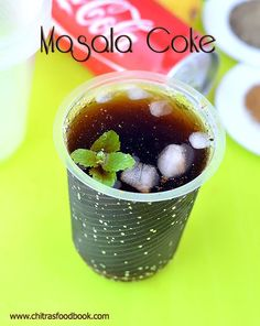 How to make Masala coke, Masala Pepsi, Masala soda recipe at home Refreshing Drinks, Summer Drinks, Fun Drinks, Healthy Drinks, Beverages, Cold Drinks, Summer Food, Eating Healthy, Healthy Snacks
