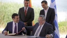 Makedonie podepisuje dohodu s Řeckem o změně svého názvu Fictional Characters, Fantasy Characters