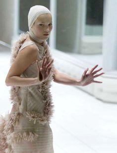 Kate Moss + Alexander Mcqueen S/S 2001.