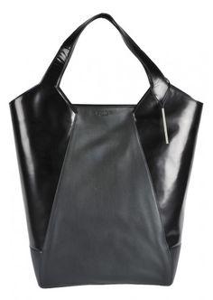 Calvin Klein, Woman Coraline Black Leather Bag