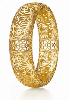 Paloma Picassos Marrakesh Collection for Tiffany Co. - 18k yellow gold cuff/bangle.