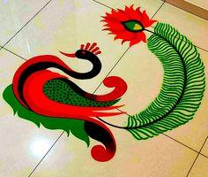 Rangoli 2 by Nilu Mishra Colorful Rangoli Designs, Rangoli Ideas, Greeting Cards, Traditional, Wall Art, Photography, Photograph, Photography Business, Photoshoot