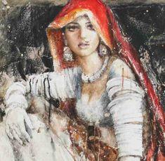 Painting of Moazzam Ali artist from moazzamali.com