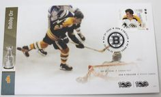 Canada 2017 NHL Hockey Legends - Bobby Orr First Day Cover | eBay Bobby Orr, First Day Covers, Nhl, Hockey, Legends, Stamps, Canada, Baseball Cards, Store