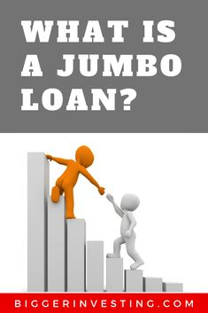 What is a Jumbo Loan? Jumbo loan is a type of mortgage used to afford properties which are too expensive for a traditional conforming loan. Jumbo Loans, Closing Costs, Down Payment, The Borrowers, Investing, Interest Rates, Factors, Larger, Key