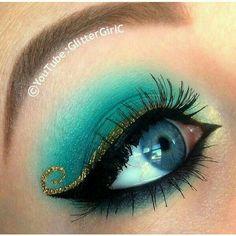 Moroccan eye makeup