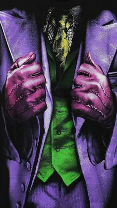 The Joker, el guasón ropa de cerca News 2019 - Dankeskarten Hochzeit 2019 - - Marvel Dc Comics, Dc Villains, Joker Comic, Dc Comics, Im Batman, Batman Joker