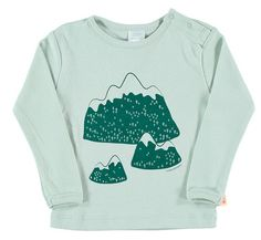 t-shirt mountains graphic tee van tinycottens