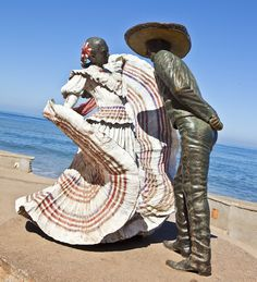More information on Malecon Puerto Vallarta. Click here: http://puertovallarta.net/what_to_do/attractions.php #puertovallarta #vallarta #malecon #sightseeing #thingstodo #attractions #jalisco #mexico - Puerto Vallarta malecon art.