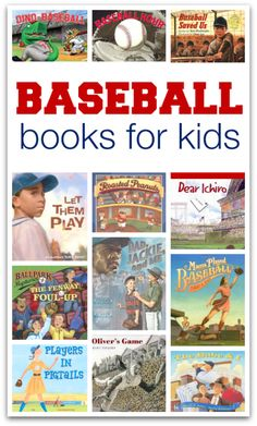It's baseball season – time for great books about baseball for kids! It's baseball season – time for great books about baseball for kids! Books For Boys, Childrens Books, Teen Books, Great Books, My Books, Kids Reading, Reading Lists, Reading Books, Book Suggestions