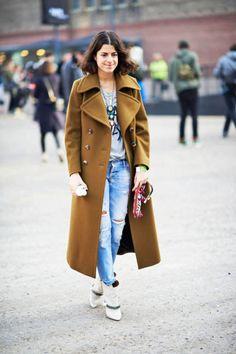 Fall 2013 London Fashion Week Street Style Leandra Medine - London Street Style Fall 2013 - ELLE
