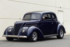 1937 FORD CLUB CUSTOM 2 DOOR COUP - Barrett-Jackson Auction Company - World's Greatest Collector Car Auctions