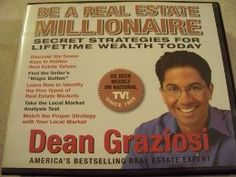 9 CD Set. Unabridged audio book of Be a real estate millionaire by Dean Graziosi.America!s best selling real estate expert. As seen on T V! since 1999