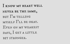 "#lyrics from ""A Little Bit Stronger"" by Sara Evans"