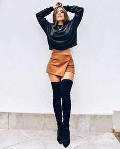 Night Outfits, Cool Outfits, Casual Outfits, Elegant Outfit, Classy Dress, Girl Fashion, Fashion Looks, Womens Fashion, Look Disco