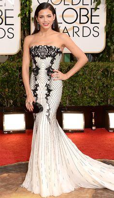 Jenna Dewan-Tatum in Roberto Cavalli from 2014 Golden Globes