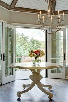 CK Design Inc. included Niermann Weeks Bruges Chandelier in this tranquil spot in a New York home.  niermannweeks.com #NiermannWeeks