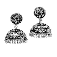 f9afb92f62b Jaipur Mart Oxidised Plated Jhumka Earrings Silver Jewellery Gift For Women      Do hope that you actually like our photo. (This is our affiliate link)    ...