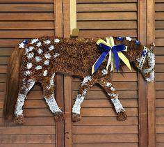 Horse Wreath/ Appaloosa Horse Dressage Horses, Appaloosa Horses, Friesian Horse, Horse Horse, Equine Photography, Animal Photography, Horse Head Wreath, Black Lab Puppies, Corgi Puppies