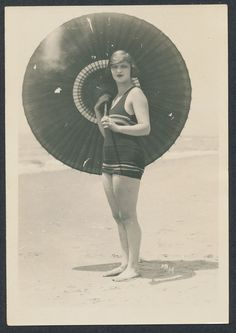 1920s gal in a bathing suit!