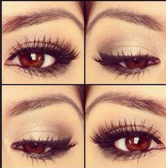 10 Natural Makeup Look Ideas This eye make-up.is gorgeous !This eye make-up.is gorgeous ! Simple Eye Makeup, Natural Makeup Looks, Love Makeup, Makeup Tips, Beauty Makeup, Hair Beauty, Makeup Ideas, Makeup Tutorials, Beauty Tips