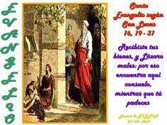 Lecturas y Liturgia del 5 de Marzo de 2015  Jeremías (17,5-10) Salmo 1,1-2.3.4.6 Lucas (16,19-31)