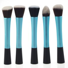 Professional Makeup Brushes Set 5 pcs Special Blue Cosmetic Make Up Brushes-in Makeup Brushes & Tools from Health & Beauty on Aliexpress.com   Alibaba Group