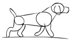 Como dibujar un perro paso a paso: