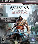Assassin's Creed IV Black Flag  (Sony Playstation 3, 2013)