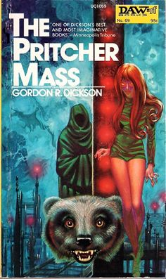 The Pritcher Mass, Gordon R. Dickson (1972), cover by Kelly Freas