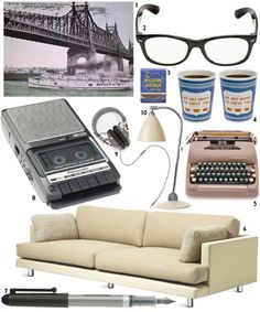 Living In: Manhattan (I love Design Sponge's series on design in film)