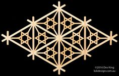 Yae-urahana kikkō pattern - Karahana (唐花) is a Chinese floral arabesque-like pattern, and the karahana arrangement of petals is often used in family crests. Wood Art Panels, Panel Art, Hexagon Pattern, Pattern Art, Japanese Woodworking, Wooden Projects, Arabesque, Wood Design, Wood Carving