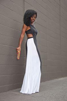 Stylish Dresses, Nice Dresses, Fashion Dresses, Summer Dresses, Simple Gowns, African Wear Dresses, V Dress, Batik Dress, Black White Fashion