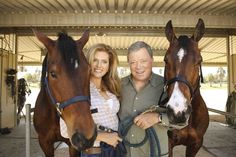 It's a beautiful love story of Hollywood movie and television star William Shatner meeting a… Star Trek Characters, Star Trek Movies, William Shatner, Star Wars, Star Trek Tos, Star Trek Enterprise, Beautiful Love Stories, Beautiful Horses, Star Trek Crew