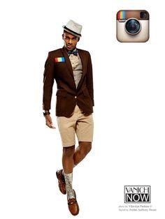 ¿Como sería vestir al estilo de las redes sociales?   Bossa // instagram