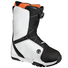 FLOW VEGA COILER BOA SNOWBOARD BOOTS 2015 IN BLACK WHITE The Flow Vega Boa is essentially the same as the lace version but with a BOA closure system. This boot is ideal for someone looking for minimal fuss when putting their boots on and is super keen to get on the snow as soon as possible. With a grippy outsole the Flow Vega BOA is a great choice for someone who wants a good boot without breaking the bank. #snowboard #snowboardboots #flowvegacoilerboasnowboardboots #colourblackwhite