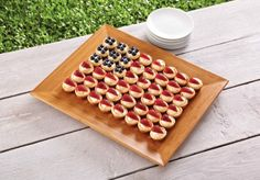 Sweeten up your Memorial Day party with this patriotic dessert. Just bake up 2 batches of our Lemonade Shortcake Cups and top with strawberries and blueberries to make an easy flag.   www.pamperedchef.biz/JenGrimes