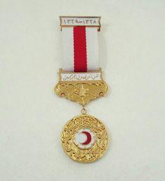 1910 Osmanlı Hilal-i Ahmer (Kızılay) Madalyası