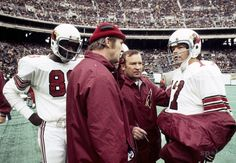 Coryell with Jim Hart and J.V. Cain. 1974/ J V Cain/ St. Louis Cards/ heart attack age of 29