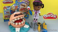 Play Doh Doctor Drill N Fill Playset Dentist with DOC McStuffins by YL T...