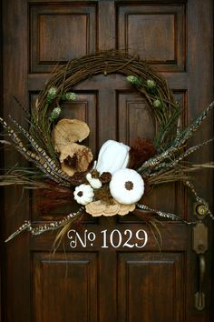 Fall Door Idea