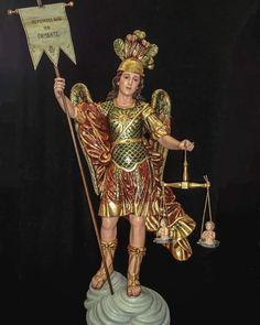 Kunst Online, Archangel Michael, Celestial, St Michael, Bolivia, Colonial, Dresses, Fashion, Heavenly Angels