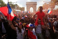 Bastille Day Parade, World Cup Trophy, Champions Of The World, World Cup Russia 2018, Soccer World, Tears Of Joy, Champs Elysees, Paris, Top Of The World