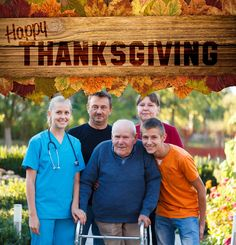 Happy Thanksgiving! We're grateful to be blessed with compassion and the energy to deliver the highest level of care to those who need it the most! #HospiceofGrace www.hospiceofgrace.com  Questions, Call (818) 452-3737
