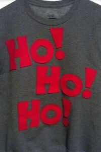 12 Days of Holiday Sweaters, Day 11: Ho Ho Ho!
